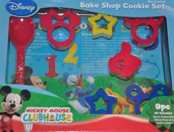 Mickey Mouse Clubhouse 9 Piece Complete Bake Shop Cookie Set Disney