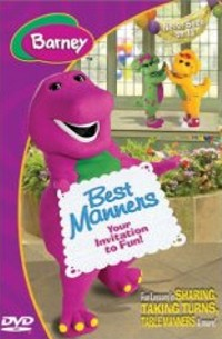 Best Manners, Your Invitation To Fun by Barney