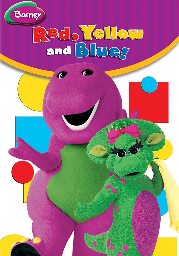 Barney's Red, Yellow And Blue