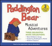 Paddington Bear Musical Adventures 3 Cd Set Baby Genius