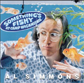 Something Is Fishy At Camp Wiganishie by Al Simmons