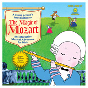 The Magic Of Mozart - Interactive Music Game & Cd Set by Mozart