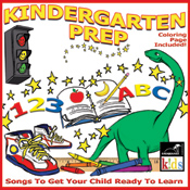 Kindergarten Prep - Songs To Get Your Child Ready To Learn