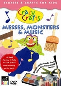 Messes, Monsters & Music Crazy Crafts