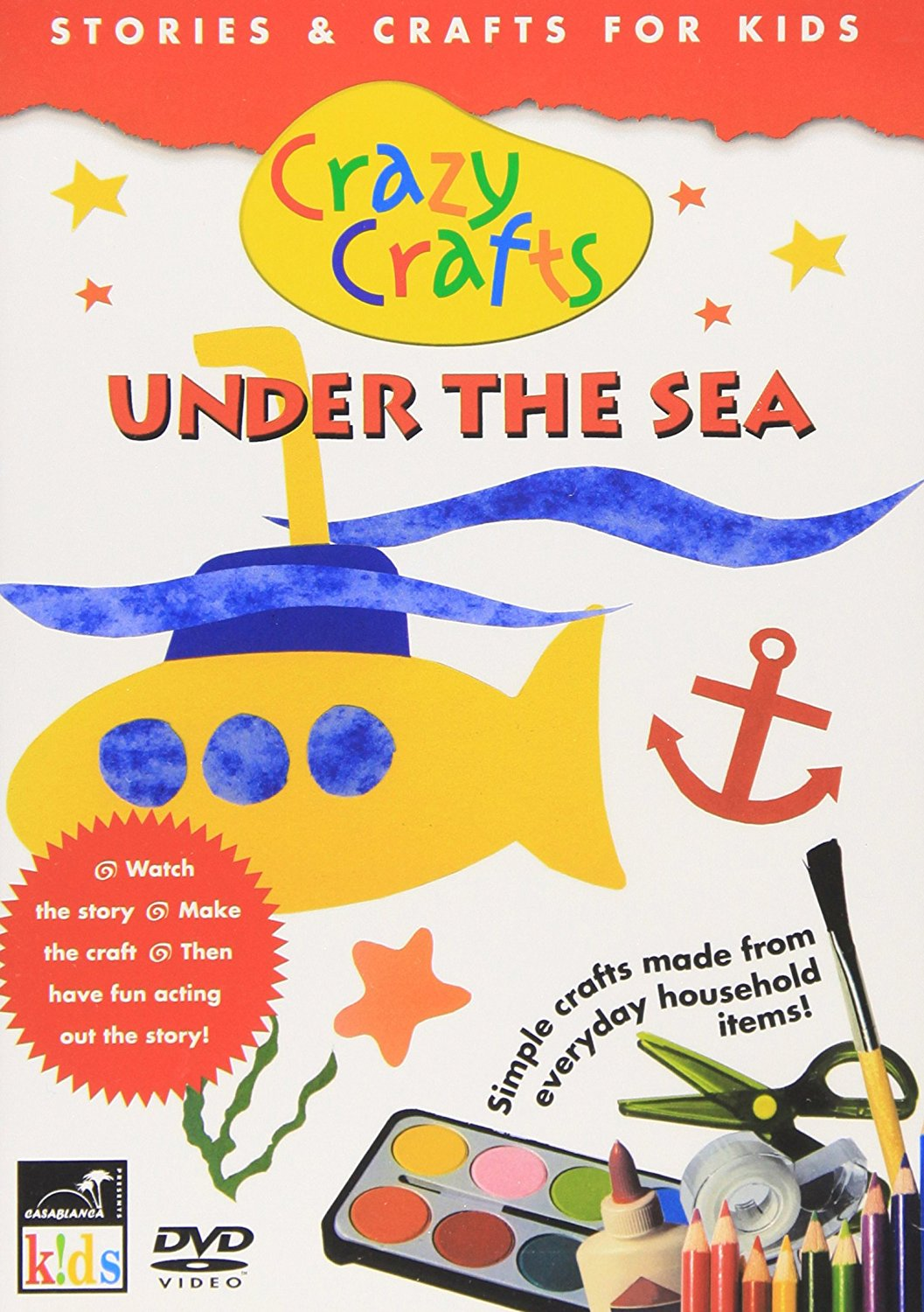 Crazy Crafts Under The Sea - Stories And Crafts For Kids