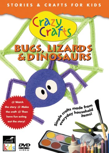 Crazy Crafts Bugs, Lizards & Dinosaurs