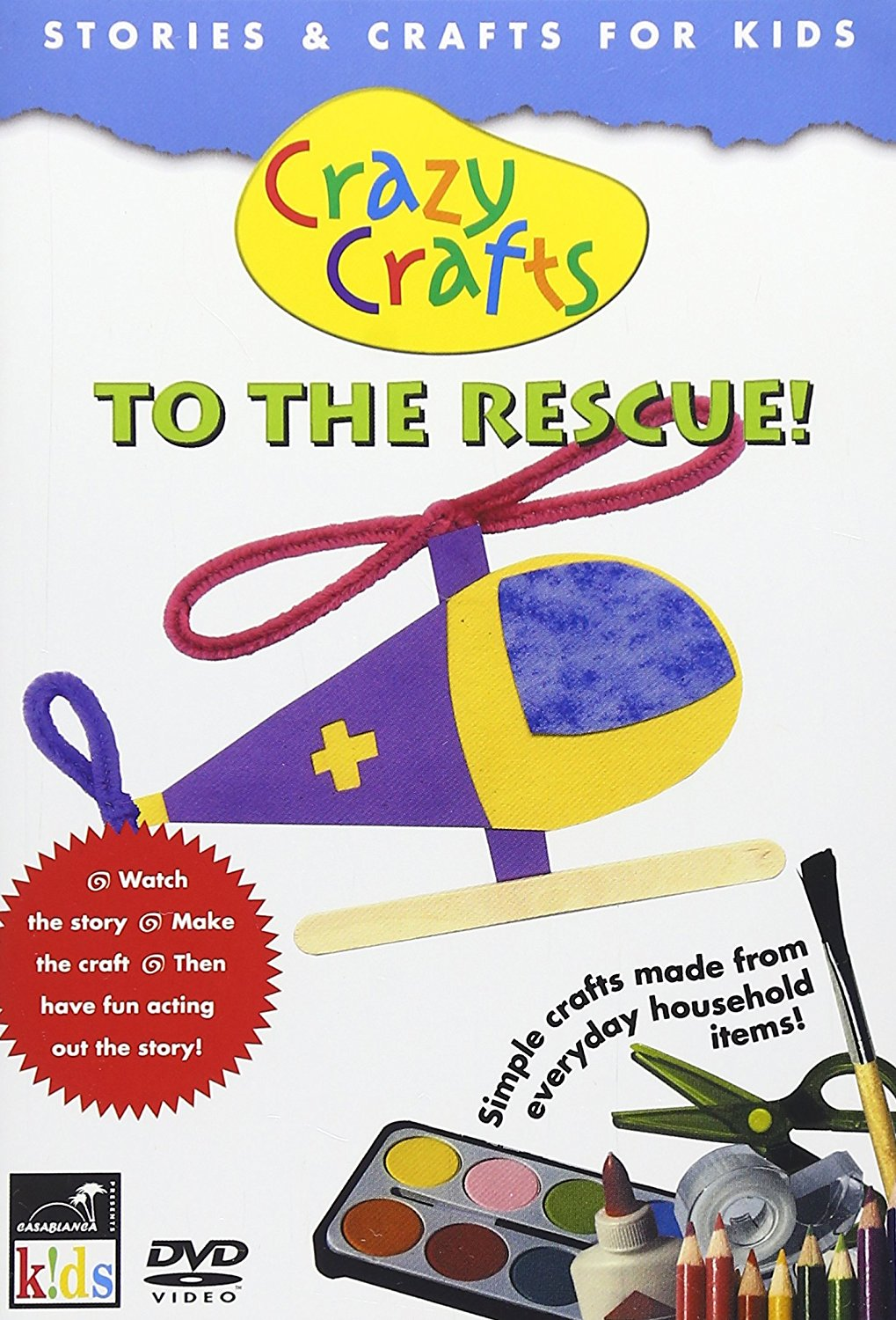 Crazy Crafts To The Rescue