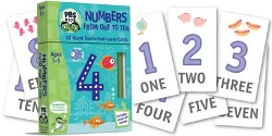 Numbers From One To Ten - With Touch &  Learn Cards And Wipe Off Marker Pbs Kids