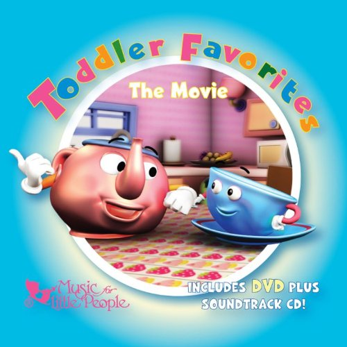 Toddler Favorites: The Movie Dvd+cd Combo Various Artists