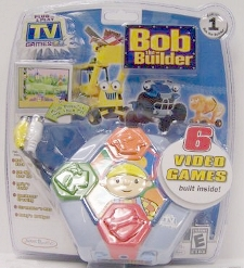 6 Video Games Plug It In & Play Tv Game Console by Bob The Builder