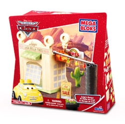 Disney Pixar Cars - Luigi's Tire Garage Mega Bloks Play Set by Mega Blocks