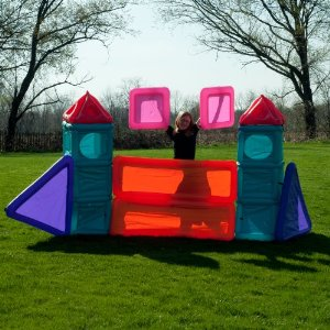 Airblox  - Build A Play House 10 Piece Play Set For Indoors Or Outdoors