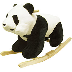 Panda Bear Soft Plush Rocking Animal Rocker by