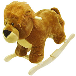 Lion Soft Plush Rocking Animal Rocker by
