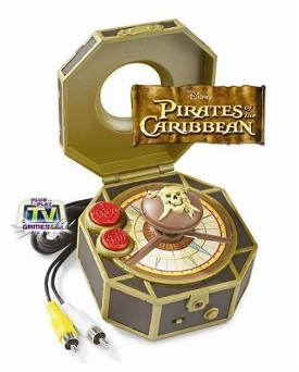 4 Video Games Pirates Of The Caribbean Islands Of Fortune Plug And Play Tv Game Console by Disney
