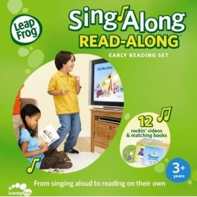 Leapfrog - Sing Along Read Along Early Reading Dvd + Books Set by Leap Frog
