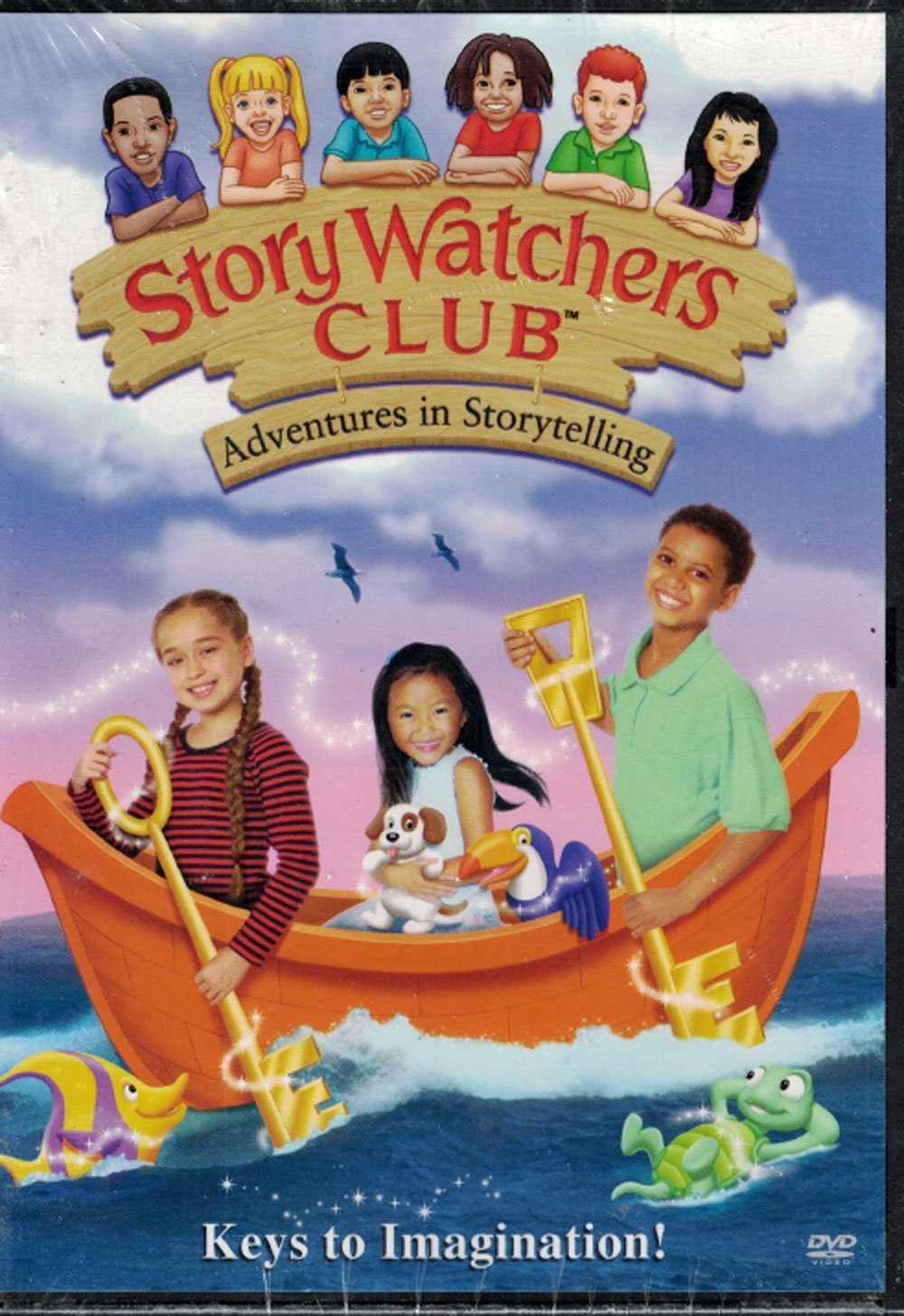 Storywatchers Club Adventures In Storytelling: Keys To Imagination by Story Watchers Club