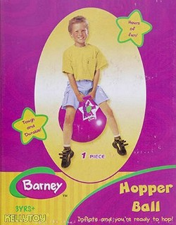 Barney The Purple Dinosaur Bouncing Hopper Ball by Barney