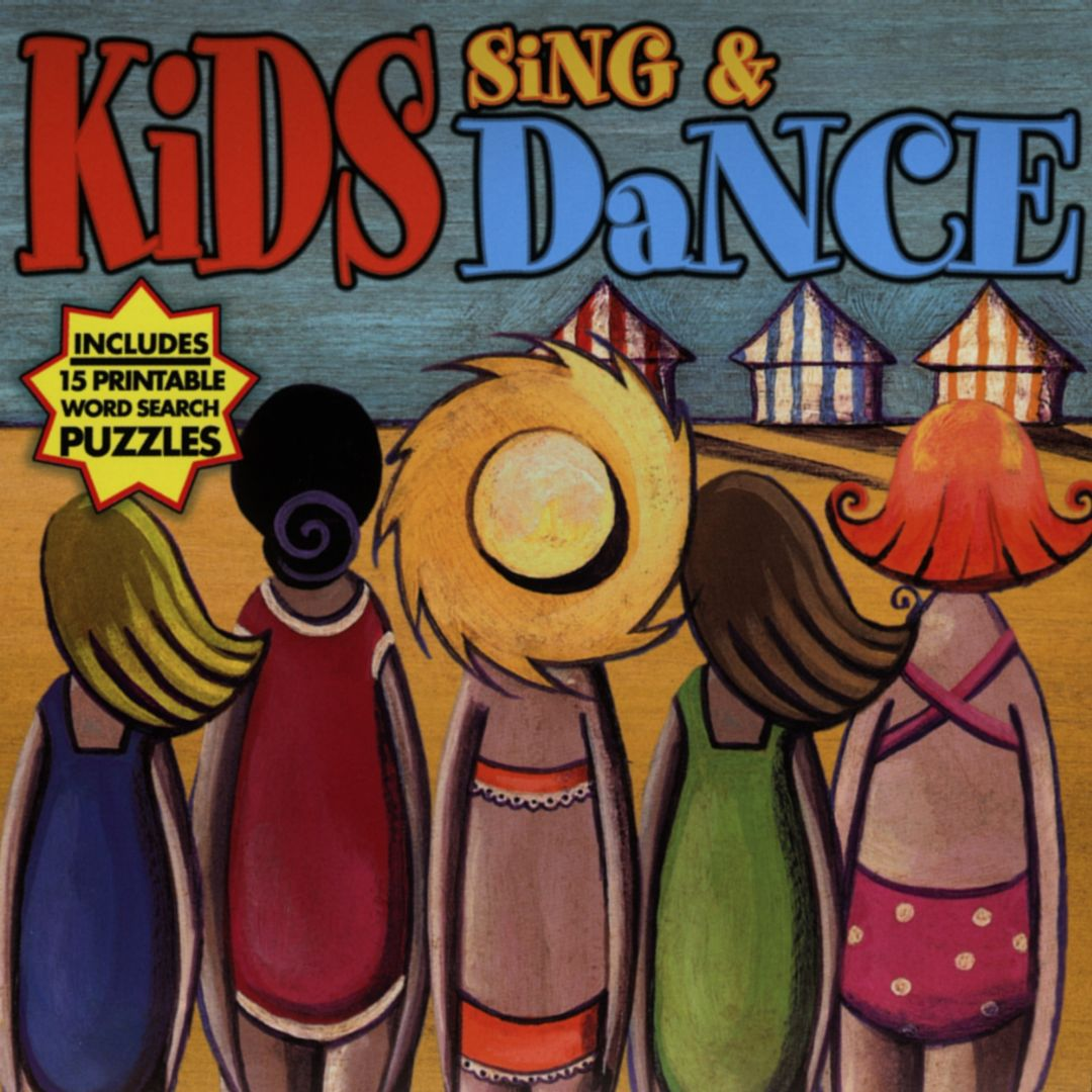Kids Sing And Dance With 15 Bonus Printable Word Search Puzzles