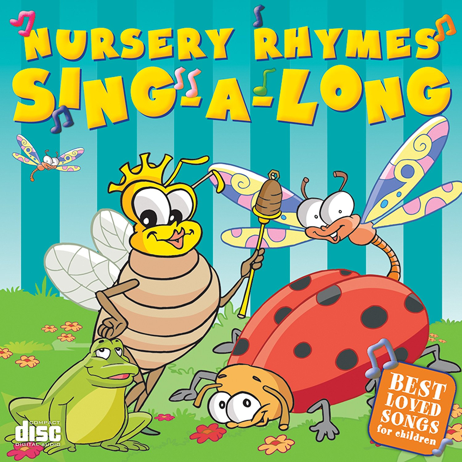 34 Nursery Rhymes Sing A Longs Best Loved Songs For Children Cd