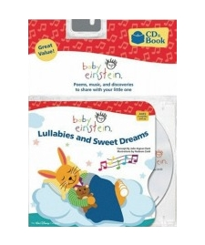 Lullabies & Sweet Dreams - Poems, Music And Discoveries Board Book And Music Cd Set Baby Einstein
