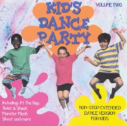 Kids Dance Party Volume 2 - Non-stop Extended Dance Versions For Kids Kids Dance Express