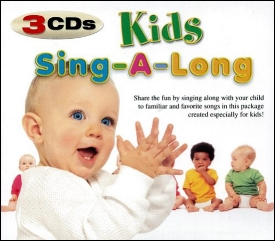 Kids Sing-a-long Country / Dance / Classics - 3 Cd Set Various