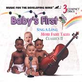 Sing-a-long, More Fairy Tales & Classics 2 - 3 Cd Set by Baby's First