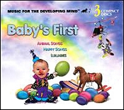 Animal Songs,  Happy Songs, Lullabies - 3 Cd Set by Baby's First