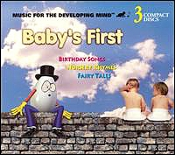 Birthday Songs, Nursery Rhymes & Fairy Tales - 3 Cd Set Baby's First