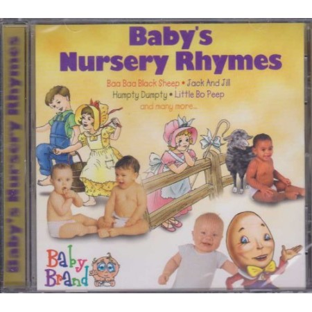 Baby's Nursery Rhymes - Baby Brand 12 Song Track Plus All Songs Repeat In Split-track Format