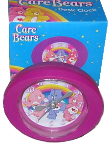 Care Bears Quartz Desk Clock by American Greetings