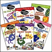 Crazy Crafts - The Complete Series 6 Dvd Set Crazy Crafts