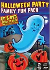 Halloween Party Family Fun Pack Cd + Dvd Set by Various Artists