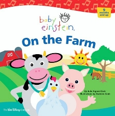 On The Farm Cd And Board Book Set Baby Einstein