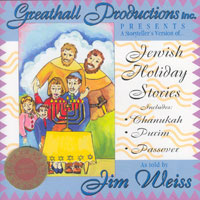 Jewish Holiday Stories - A Storyteller's Versions Of  Chanukah, Purim, Passover - Audio Book by Jim Weiss