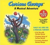 35 Songs Of Curious George - 3 Cd Box Set - A Musical Adventure by Curious George