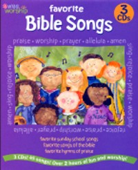 45 Favorite Bible Songs Of Fun And Worship - 3 Cd Box Set by Baby Genius