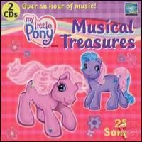 Musical Treasures - Pony Party & Friendship Songs - 2 Cd Set (hasbro/ Baby Genius) My Little Pony