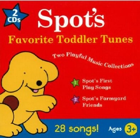 Spot The Dog: 28 Favorite Toddler Tunes - 2 Cd Set by Baby Genius