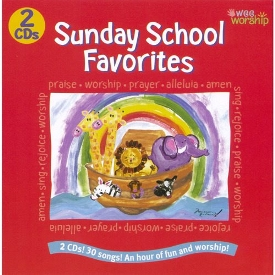 30 Sunday School Favorites - Wee Worship Praise, Alleluias And Amens Songs - 2 Cd Set by Baby Genius
