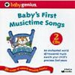 Baby's First Music Time Songs For Learning And Development - 2 Cd Set Baby Genius