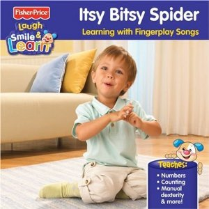 Various Artists Itsy Bitsy Spider: Learning With Fingerplay Songs