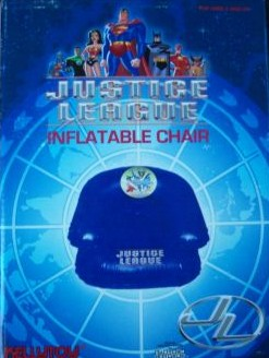 Justice League Inflatable Pool Chair by Warner Brothers