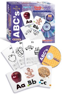 I'm Learning My Abc's - Learning Kit W/ Flash Cards, Music Cd, Activity Book by Kidzup