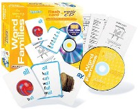 I'm Learning My Word Families - Learning Kit W/ Flash Cards, Music Cd, Worksheets by Kidzup