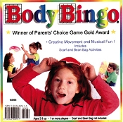 Body Bingo Creative Movement And Musical Fun by Kimbo Educational
