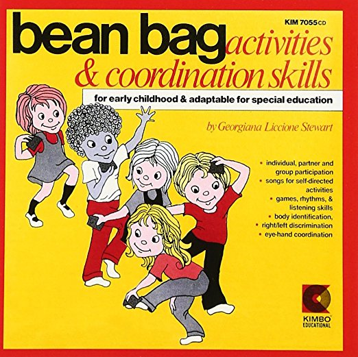 Georgiana Liccione Stewart Bean Bag Activities & Coordination Skills Cd For Early Childhood & Special Education