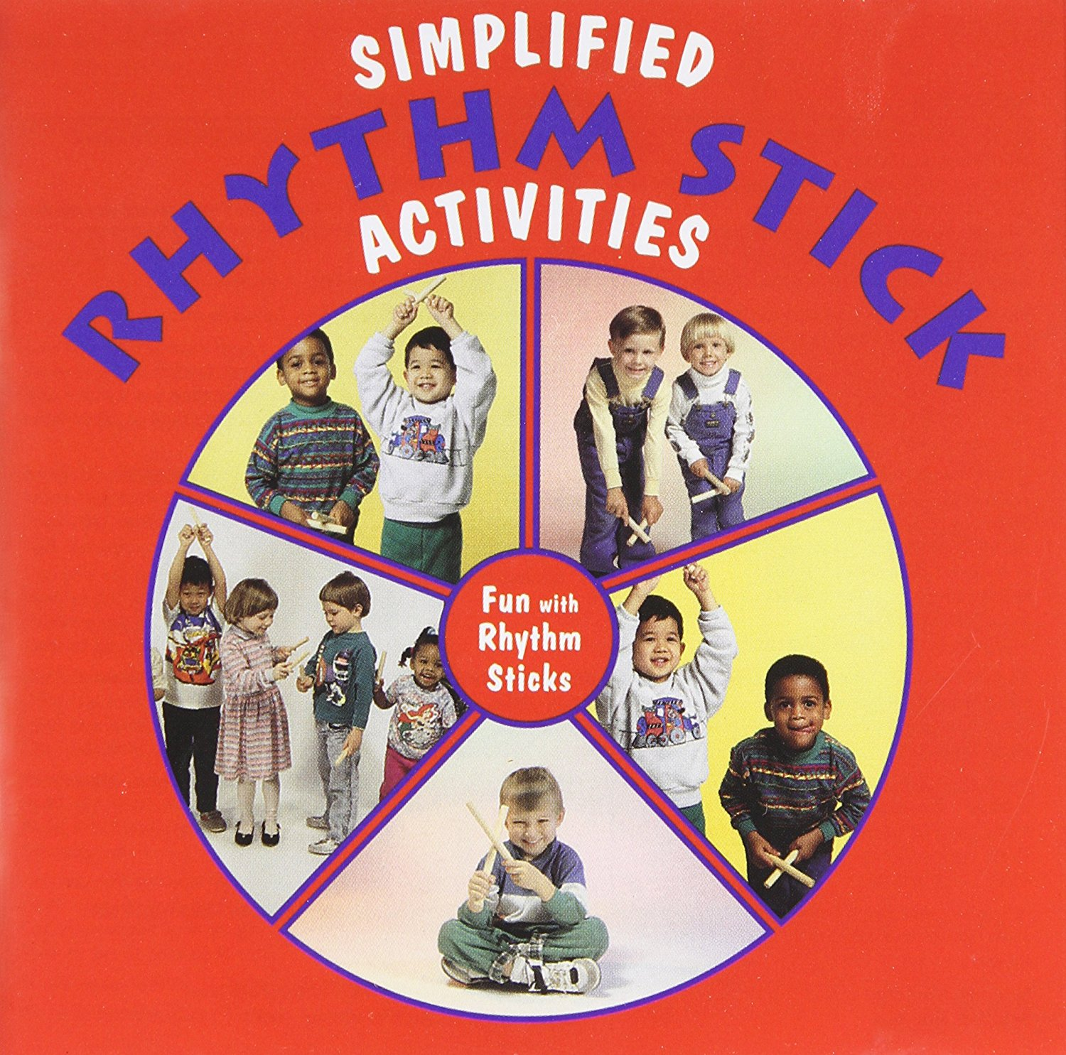 Kimbo Educational Simplified Rhythm Stick Activities - Tap Your Way To Fun Cd