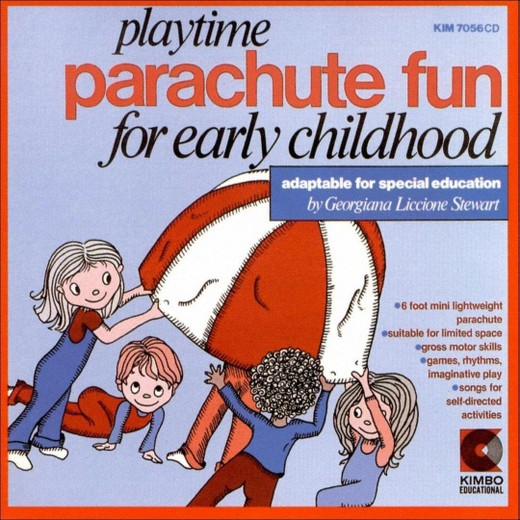 Playtime Parachute Fun For Early Childhood And Special Education Cd by Georgiana Liccione Stewart